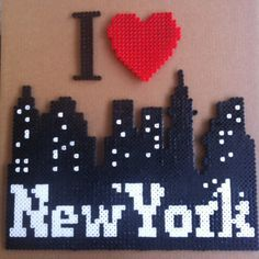 I love New York por MerinosCrafts en Etsy