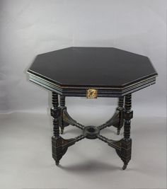 Aesthetic Movement Centre Table Circa 1880 - Antiques Atlas