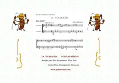 http://www.guitarraul.com/m/36/popular-mexico  Guitar Duo Arrangement. Very easy. Ideal for the guitar students. Listen the work in:https://www.facebook.com/arreglosguitarra