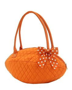 love this! Tennessee Volunteers UT Vols, Quilted Football shaped Purse $30.00, via Etsy.