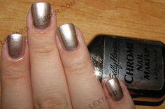Chrome/Silver Nail Polish:  Sally Hansen Chrome