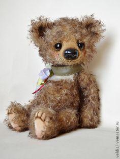 """Мишки Тедди ручной работы. Ярмарка Мастеров - ручная работа Медвежонок """"Боря"""". Handmade."""