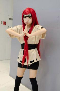 H-SAMA blog: COMO FAZER? cosplay KUSHINA UZUMAKI - NARUTO