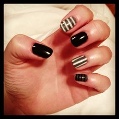 My nail design right meow.
