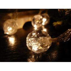 Crystal LED String Lights Wine Supplies, Star Mobile, Crystal Beads, Crystals, Light Bulb, Light Led, Light Emitting Diode, Led Christmas Lights, Party Lights