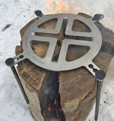 Swedish Log Stovetop