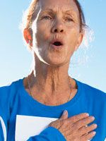 Pursed-Lip Breathing for COPD---One way to slow down the progression of COPD is to keep your chest muscles active through aerobic exercise, stretching, strengthening, and special breathing exercises like pursed-lipped breathing. Reactive Airway Disease, Allergy Asthma, Chest Muscles, Easy Workouts, How To Stay Healthy, Breathe, Actors, Breathing Techniques, Remedies