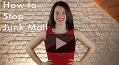 {Video} How to Stop Junk Mail #optout #junkmail #savetime #mail