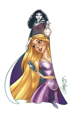 Rapunzel - J. Scott Campbell