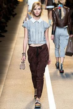 Fendi Spring 2015 Ready-to-Wear Fashion Show: Complete Collection - Style.com