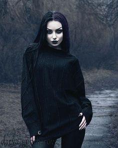 Gothic and Amazing — Model/ Photo/ MUA: Darya Goncharova Tunic:. Makeup Gothic, Goth Makeup, Gothic Hair, Makeup Style, Style Steampunk, Gothic Steampunk, Mode Alternative, Alternative Fashion, Goth Beauty