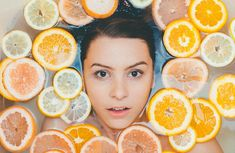 Vitamin C is touted as one of the best anti-aging ingredients on the market and the key to maintaining a smooth, even, and glowy complexion. But does it really work? Here's what you should know before you add a vitamin C serum to your skin care routine. Lemon Face Mask, Lemon On Face, Daily Beauty Routine, Beauty Routines, Skincare Routine, Skin Tips, Skin Care Tips, Anti Aging, Simple Makeup Tips