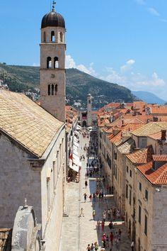 Stradun - Things to see & do in #Dubrovnik, Croatia.