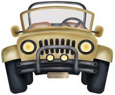 Cartoon Jeep Clip Art Royalty Free Stock Image Jeep