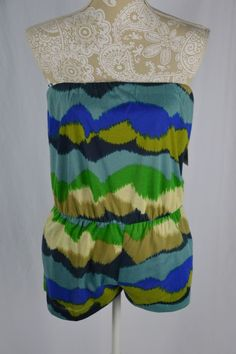 """Hip - 19"""". Color - Lime Combo ( Blue Green). Waist - 13.5"""" (very stretchy). Size - Small.   eBay!"""