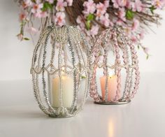 different than what you expect! ~ Easter Egg Votives