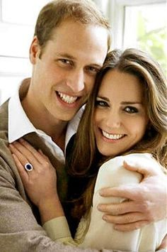 .Prince William and Duchess Kate