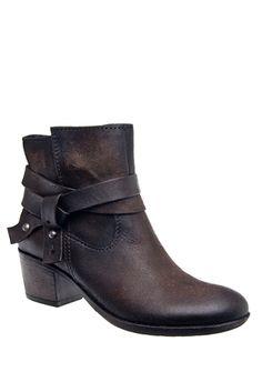 MJUS - 140210 Mid Heel Bootie - Bruciato