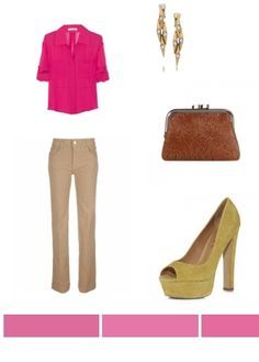 Pink. Casual and Stylish