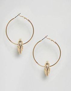 Earrings & Ear Cuffs | Silver & Gold, Studs & Drop Earrings | ASOS