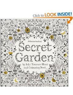 Secret Garden de Johanna Basford, un libro muy especial.