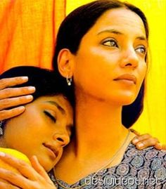 Nandita Das and Shabana Azmi embracing each other in Fire a lesbian movie  http://leojpeo.blogspot.in/2012/06/bollywood-stereotypes.html