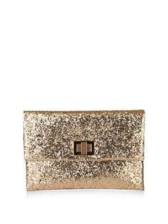 Amazingly sparkly clutch
