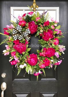 A personal favorite from my Etsy shop https://www.etsy.com/listing/221963722/new-spring-door-wreath-mackenzie-childs