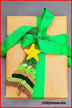 Rustic Evergreen Ornament by Nadia Fuad