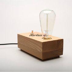 Free Shipping  Loft vintage Design Original Wooden  Table Lamp Contemporary Edison Light Bulb Desk Light TL64 Lampe Edison, Wooden Table Lamps, Table Vintage, Contemporary Table Lamps, Desk Light, Furniture Projects, Vintage Designs, Light Bulb, The Originals