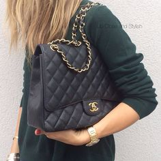 4cf6e9360e27 Instagram Post by Up Close and Stylish (@upcloseandstylish). Chanel  MaxiChanel PurseCrossbody ToteSatchelChanel Classic FlapVintage ...