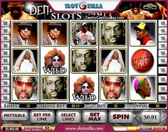 Play with famous Dennis Rodman! ✌  One of the most often played #slotmachine by Playtech is Dennis Rodman! Dribble along to the victory with the basketball legend at your side!  Play at www.slotozilla.com   http://www.slotozilla.com/free-slots/dennis-rodman1