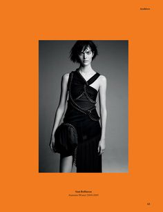 'The Archive Of An Era' by Patrick Demarchelier for System Magazine Issue 1 | The Fashionography