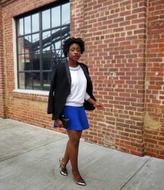 The Language of Yolande : jeweled sweatshirt and flare skirt