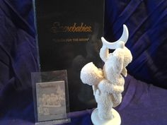 Snowbabies Reach for the Moon Collectible Figurine Dept 56 with box | eBay