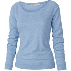 Tilly Crew T-Shirt - looks so comfy! Blue Long Sleeve Shirt, Long Sleeve Sweater, Long Sleeve Tops, Sweater Shirt, T Shirt, Crew Neck Shirt, Partner, Fashion Outfits, My Style