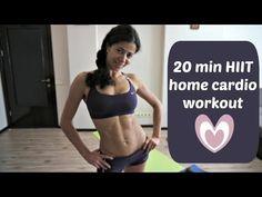 20 Minute Calorie Burning HIIT Total Body Fat Blasting
