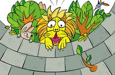 The Lion and the Bunny Story for kids