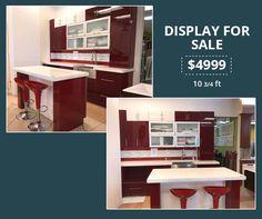 Kitchen Display, Interior Decorating, Interior Design, Remodel Bathroom, Counter Tops, Corner Desk, Tiles, Like4like, Kitchen Cabinets