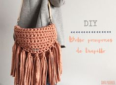 Aprende a tejer un bolso ovalado de trapillo Parte I
