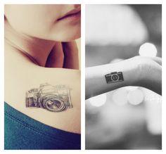3d camera tattoos - Google Search