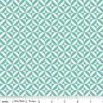 Riley Blake - Fun and Games - Geometric - Aqua