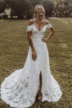 Bonita Gown | Lace Wedding Dress | Grace Loves Lace Wedding Dress Shopping, New Wedding Dresses, Lace Wedding, Wedding Hair, Dream Wedding, Wedding Outfits, Wedding Bells, Wedding Stuff, Elopement Dress