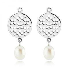 PANDORA - Cultured Elegance Pearl Stud Earring Charms Sale