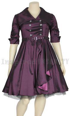 Details about womens plus size 1940 39 s 1950 39 s classic for Plus size rockabilly wedding dresses