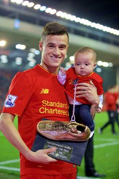 Winner of the 2015/16 Golden Samba is Phil Coutinho #LFC