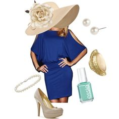 Kentucky Derby, created by vgil on Polyvore