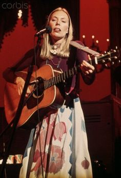 Joni Mitchell Performing with The Band