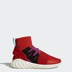 meet 4c862 9dc6b Baratas Zapatillas Adidas Tubular Doom Winter Mujer ScarletScarletShock  Purple BY9397