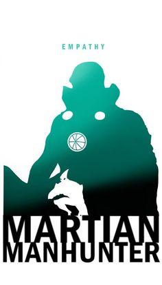 Steve Garcia Art - Empathy - Martian Manhunter